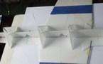 Indoor : fuselage d'équerre.