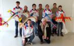 1er Cht du Monde voltige Indoor F3P : Champions du monde par équipe... Théo Catros champion du Monde Junior !