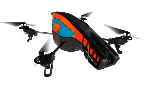 "AR Drone 2.0 : 1er test du ""director mode"" d'AR FreeFlight 2.4.3"