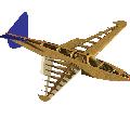 Rendu 3D de la structure du petit Bugatti P100